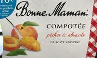 Compotée pêches🍑 & abricots - Prodotto - fr