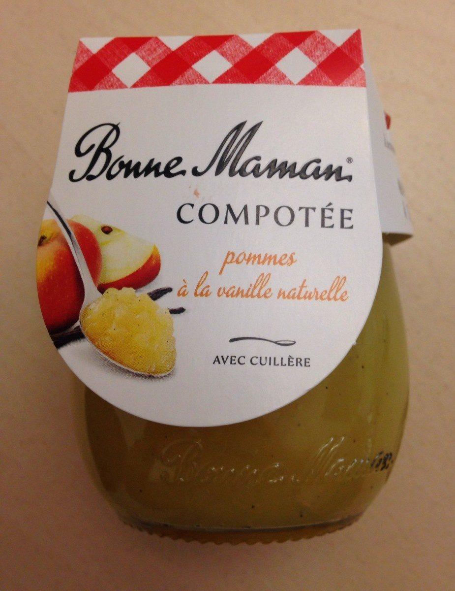 Compotée pommes à la vanille naturelle - Produit - fr