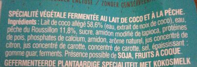 Andros So good & Veggie Pêche - Ingrediënten