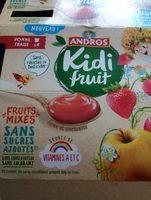 Kidifruit Pomme Fraise - Product - fr