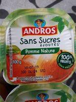 Pomme nature sans sucres ajoutés - Product