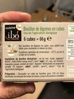 Bouillon de légumes en cubes - Ingredienti - fr