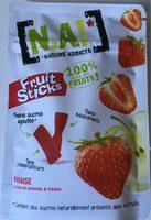 Fruits Sticks NA Pomme Fraise - Product