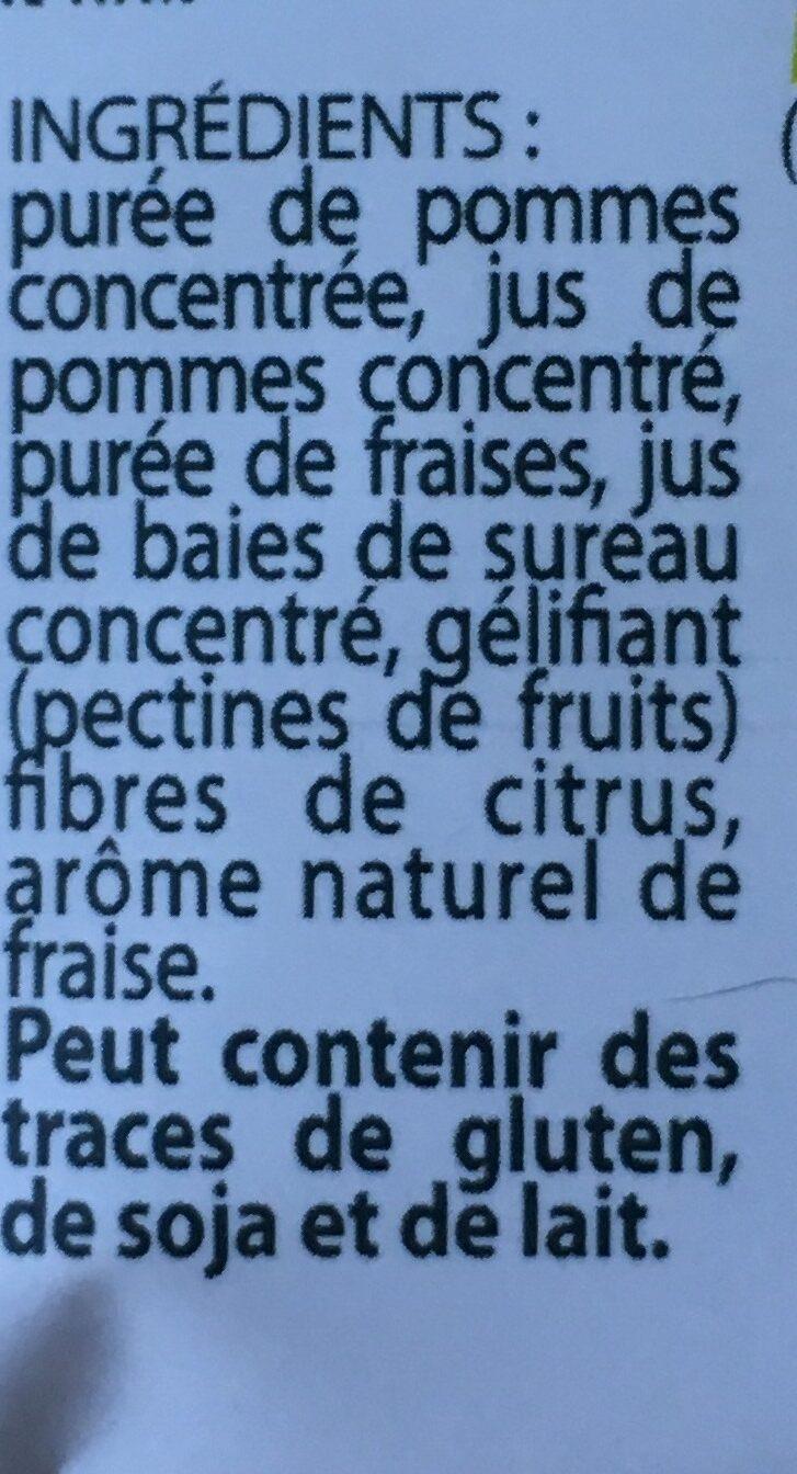 Fruit Stick - Fraise - Ingredienti - fr