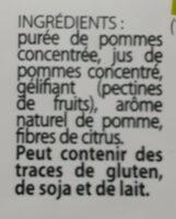 Fruit Stick - Pomme - Ingrédients - fr