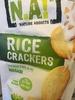 Rice Crackers Fins au de riz wasabi - Produit