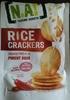 Rice Crackers piment doux N.A! - Produit