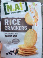 Rice Crackers - Poivre Noir - Prodotto - fr