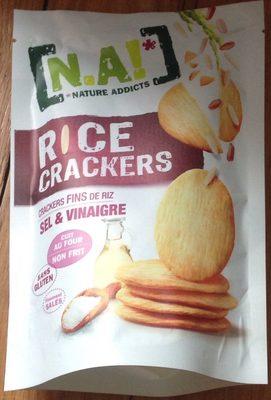 Rice Crackers Sel & Vinaigre - Product