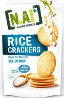 Rice Crackers -Sel de mer - Prodotto - fr