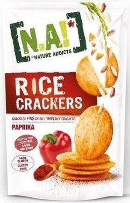 Rice Crackers - Paprika - Produkt - fr