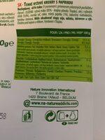 Rice Crackers - Paprika - Wiederverwertungsanweisungen und/oder Verpackungsinformationen - fr