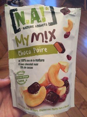 My Mix choco poire - Produit - fr