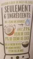Coco Nature - Ingrédients