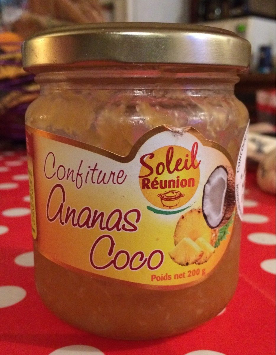 Confiture Ananas Coco - Product