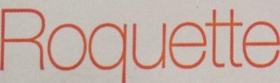 Roquette - Ingrediënten