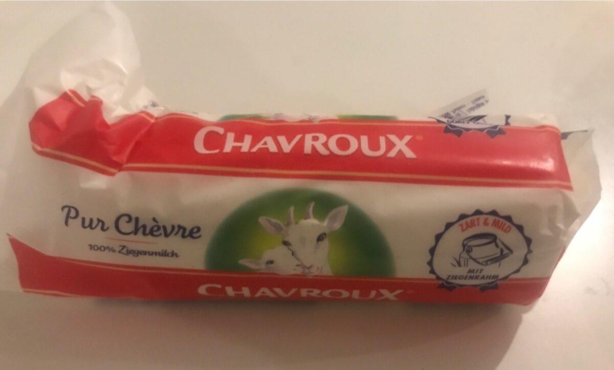 Chavroux La Buche Goats Cheese - Product