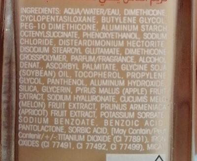 Healthy Mix - Ingredienti - fr