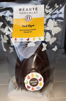 Oeuf ligne garni de fritures assortie. Chocolat noir - Prodotto - fr