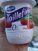 Taillefine 0% aux fraises - Prodotto - fr
