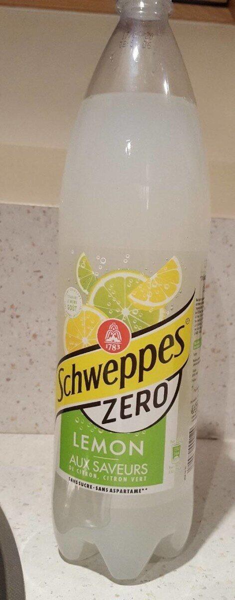 Schweppes lemon zero - Produit - fr