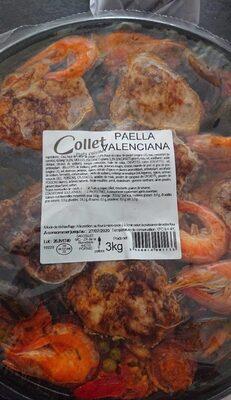 Paella - Informations nutritionnelles - en