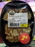 Émincé de poulet rôti à la Normande et riz - Produit - fr
