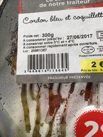 Cordon bleu et coquillettes - Produit - fr