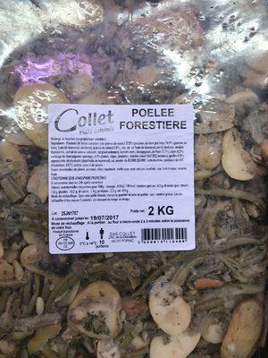 Poêlée forestière - Produit