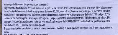 Poêlée forestière - Ingrédients - fr