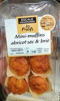 Mini-Muffins Abricot Sec & Brie - Produit