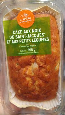 Cake aux noix de saint-jacques et aux petits légumesde - Product