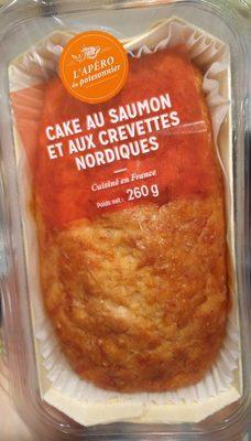 Cake au saumon et aux crevettes nordiques - Produit - fr