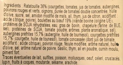 Boulettes au bœuf a la provençale - Ingrédients - fr