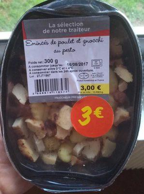 Émincés de Poulet et Gnocchi au Pesto - Produit