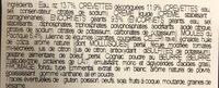 Risotto de la mee - Ingrédients - fr