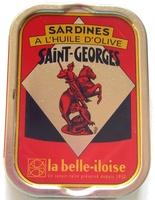 Sardines à l'huile d'olive Saint-Georges - Produit