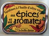 Sardines à l'huile d'olive vierge aux épices et aux aromates - Produit