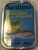 Sardines marinées au muscadet et aux aromates - Product