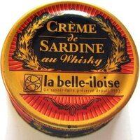 Crème de sardine au whisky - Product - fr