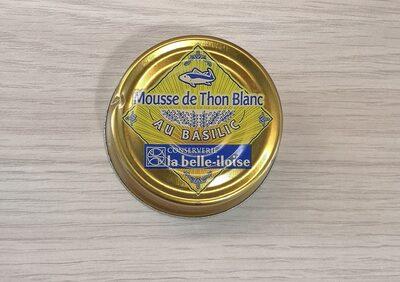 Mousse de thon blanc au basilic - Produit