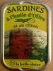 Sardines à l'huile d'olive et au citron - Product