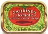 Sardines à la tomate et à l'huile d'olive vierge - Produit