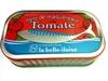 Filets de maquereaux à la tomate - Produit