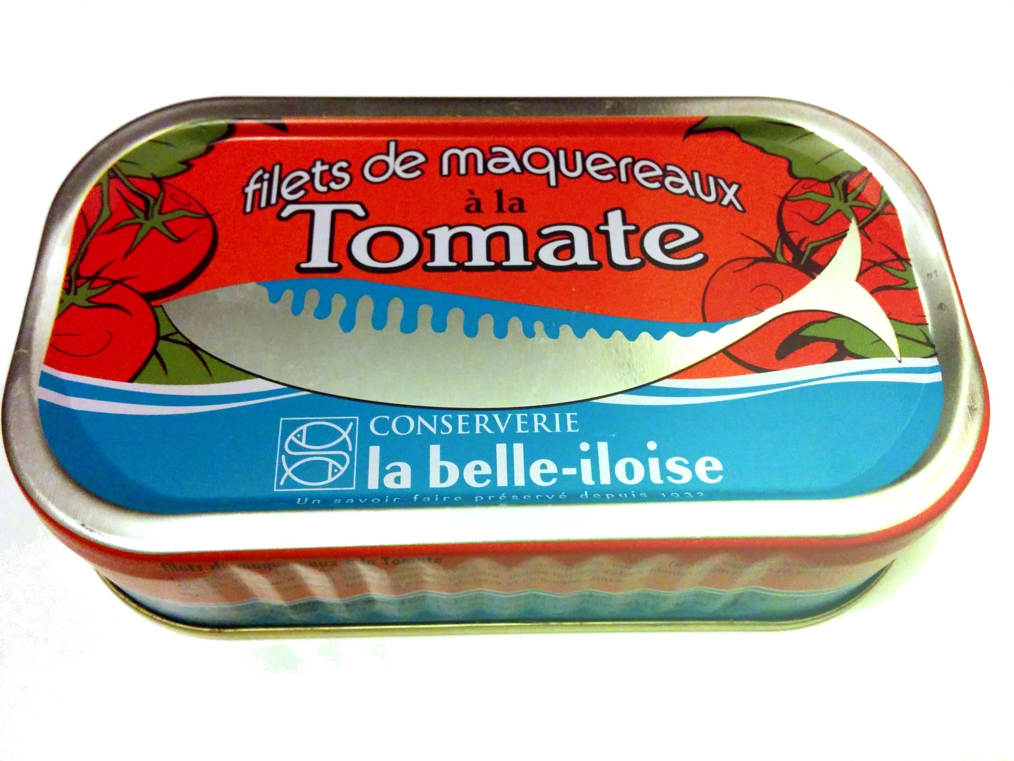 Filets de maquereaux à la tomate - Product - fr