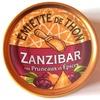Emietté de thon zanzibar aux pruneaux et épices - Produit