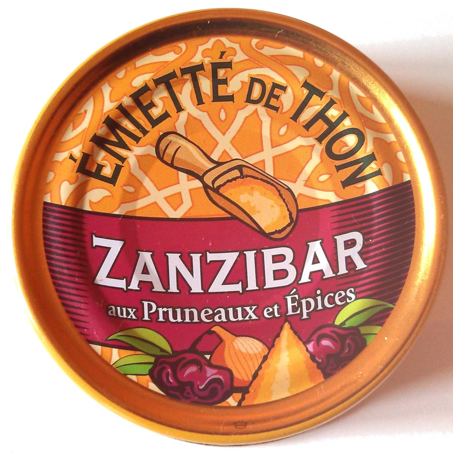 Emietté de thon zanzibar aux pruneaux et épices - Product