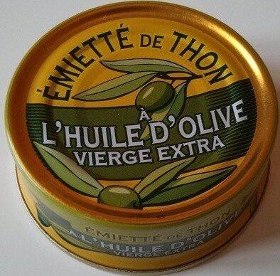 émietté de thon a l'huile d'olive vierge extra - Prodotto - fr