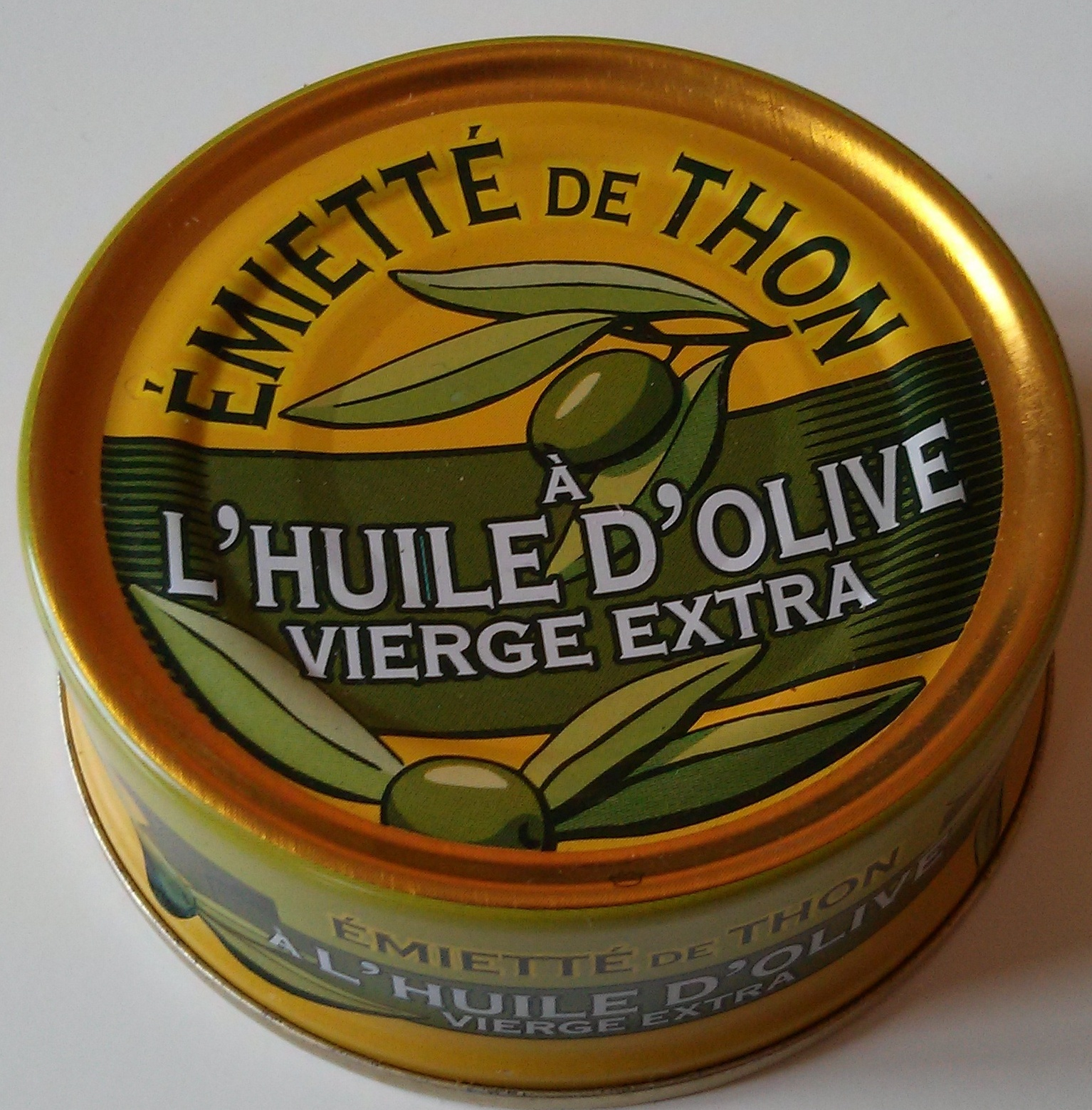Emietté de thon a l'huile d'olive vierge extra - Product