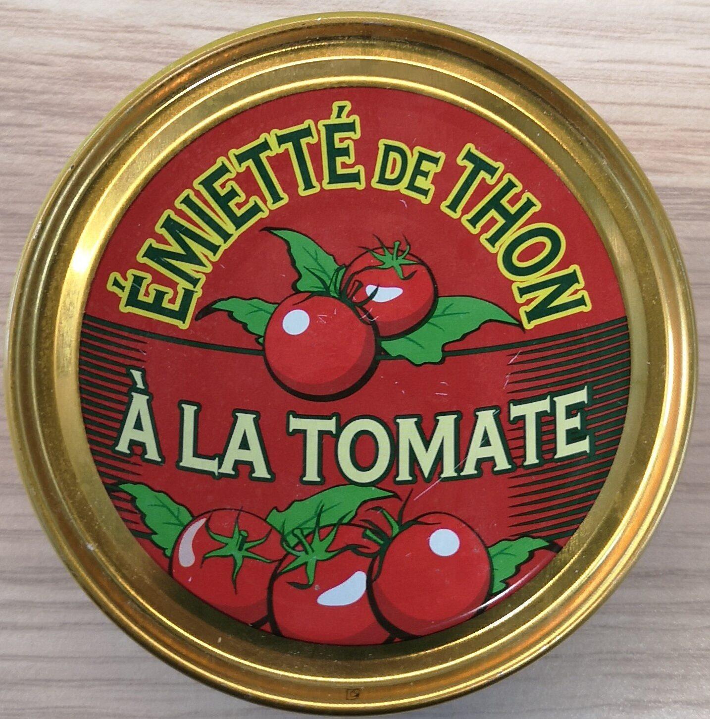 Émietté de thon à la tomate - Product - fr